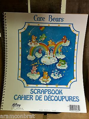 Vintage New Coil Care Bear Scrapbook - 40 pgs Never Used Collectible HTF CANADA