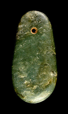 Museum Quality Chinese Neolithic Jade Axe Head / Pendant