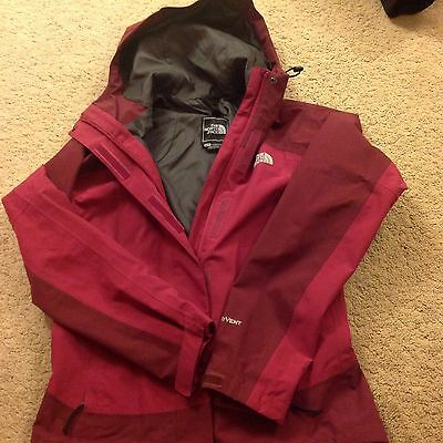 North Face jacket xs ladies womens Hyvent