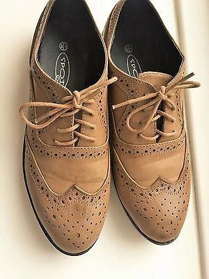 TK Maxx brown ladies shoes, size 7 / 40