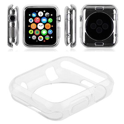 "Apple watch TPU Protector Gel Case for Apple iWatch Size 42"" - Clear"