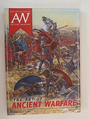 The Art Of Ancient Warfare - Filled with Great Color Illustrations, 98 pages, SC