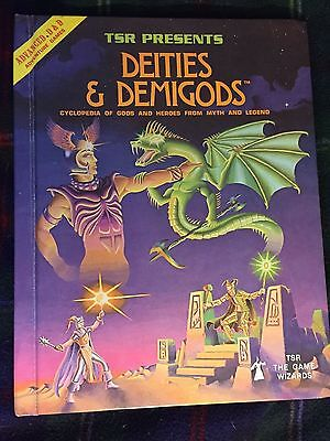 Advanced Dungeons and Dragons Deities & Demigods 1980