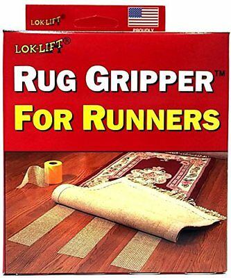 Lok-Lift Rug Gripper for Runners Non-slip Tape, 4-Inch by 25-Feet (Pack of 2) by