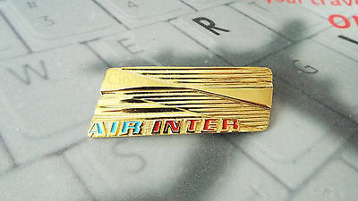 Air Inter Hostess Cabin Crew Insignia Wing French Airlines Airways Madeby Carvon