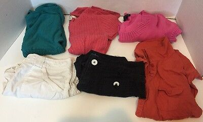 Lot Of Girls Size 12 14 Warm Weather Clothes Shirts Shorts Summer Sweaters