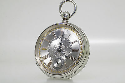 1877 Large Silver Victorian Pocket Watch