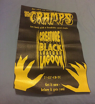 """The Cramps.""""The Creature From The Black Leather Lagoon"""".plastic """"leather look"""""""