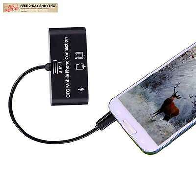 Trail Game Scouting Camera Viewer Card Reader Android Phones Micro USB SD Cards