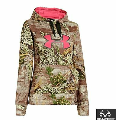 Women's Under Armour Realtree Max 1 Hoodie - Size Small - NEW WITH TAGS!