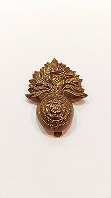 The Royal Fusiliers British Army Military Cap Badge