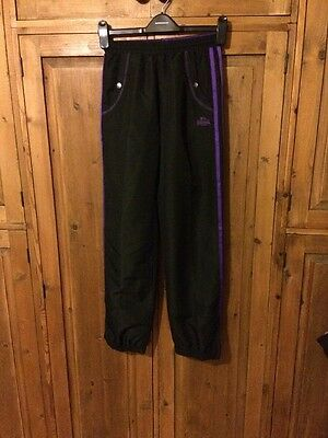 Girls 13 Years Lonsdale Tracksuit Bottoms Great Condition