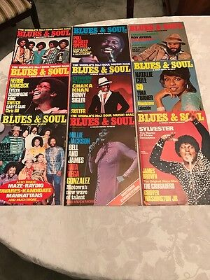 9 Blues and Soul Magazines - Issue 271-279