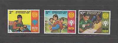 Bhutan 1979 Year Of The Child Set Mint Never Hinged