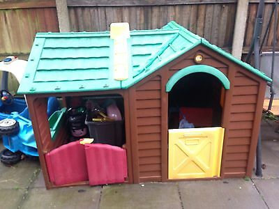 B And Q Ranch Playhouse Wendy House Garden