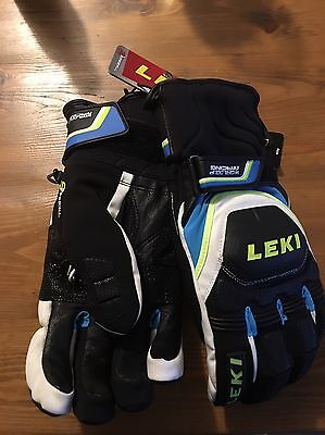 BNWT Leki World Cup Ski Racing Gloves Size 9 with Trigger S