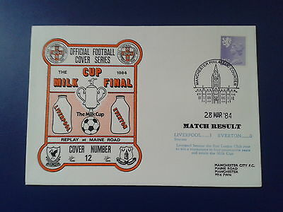 LIVERPOOL v EVERTON 1984 MILK CUP FINAL REPLAY Cover Series(No12)