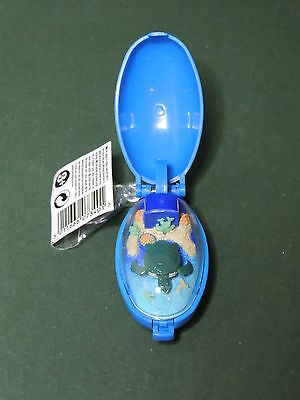 Critters TURTLE WORLD keyring poket pets serie Tomy Takara 1993 Wind up animated