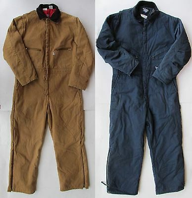 """Mens Xl Walls Blizzard Pruf Or Liberty Canvas Insulated Coveralls 46-48"""""""