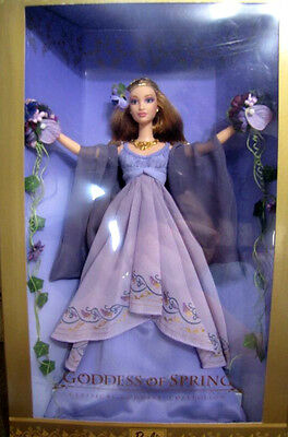 BARBIE GODDESS OF SPRING NRFB - NUOVA - LIMITED EDITION model doll collection