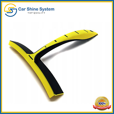 Silicone Vehicle Car Wash Valeting Flexi Squeegee Water Blade Dry Windows Glass