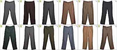 JOB LOT OF 19 VINTAGE TROUSERS - Mix of Era's, styles and sizes (21164)