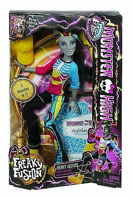 Monster High Freaky Fusions Neighthan Rot Boy Doll New in Box!! Zombie CBP33