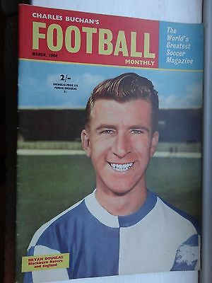 charles Buchan's Football monthly 1964 March no 151