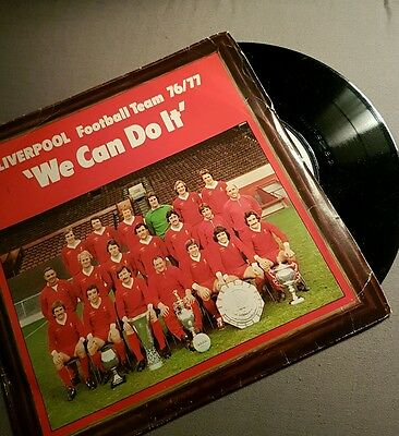 LIVERPOOL FC vinyl 76/77 we can do it