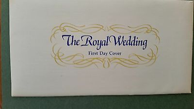 The Royal Wedding First Day Cover,  1981, Great Britain, FDC, Charles and Diana