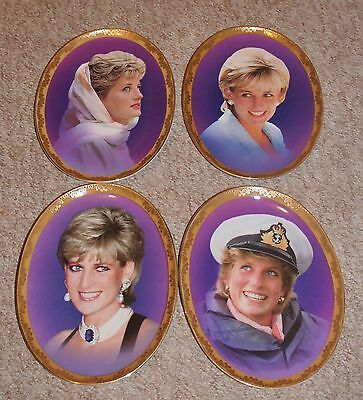 The Full Set 'Memories of Diana' Limited Edition Plates~BOXED~