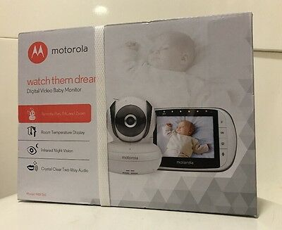 Motorola MBP36S Digital Video Baby Monitor Brand New Costs £159.99 FAST POSTAGE