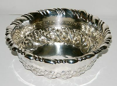 "** Excellent Ornate STERLING SILVER BOWL Signed HOWARD & CO NEW YORK ""  **"