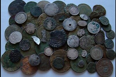 Old Coins-metal detecting finds