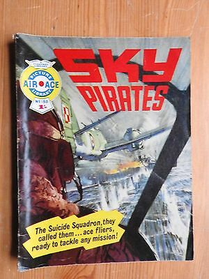 Air Ace Picture Library #155 - Sky Pirates VG Fleetway