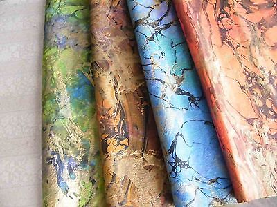 8 pcs.x HANDMADE THIN MULBERRY WRAPPING PAPER SHEET CARD SCRAPBOOK CRAFT