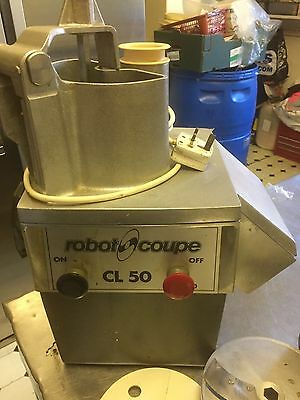 Robot Coupe CL50. Heavy Duty Vegetable Food Processor
