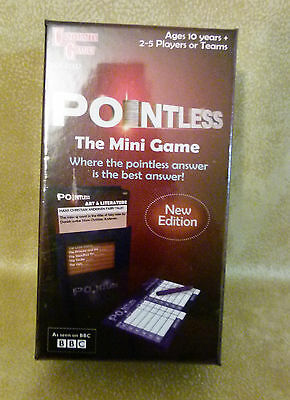 BN Sealed Pointless Mini Game New Edition University Games
