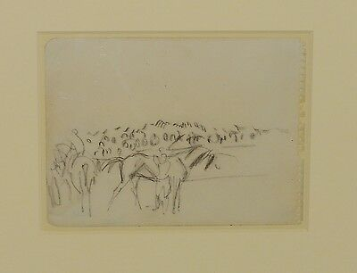 Dame Laura Knight original drawing with perfect provenance