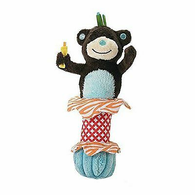 Mud Pie Mudpie Safari Brown Monkey Chime Rattle Lovey