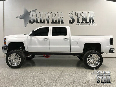 2015 Chevrolet Silverado 1500  2015 Silverado 2500 LTZ 4WD CrewCab *Lift 24s 38s Loaded ShowTruck BadA$$ Texas
