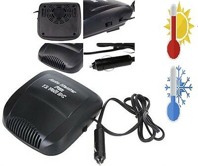 Car Van Auto Heater & Cooler Windscreen Demist Defrost 2 in 1 - FREE SHIPPING