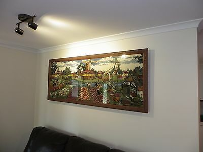 Wool Tapestry Under Glass - Dutch Made