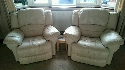 Sofa and 2 armchairs + footstool