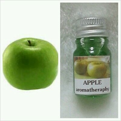 GREEN APPLE SCENT AROMA ESSENTIAL OIL FOR DIFFUSER, SPA BATH, CANDLE LAMP, 5ml
