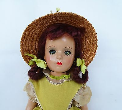 "GORGEOUS C.1940 Vintage ""Margaret O'Brien"" Composition Doll by Madame Alexander"