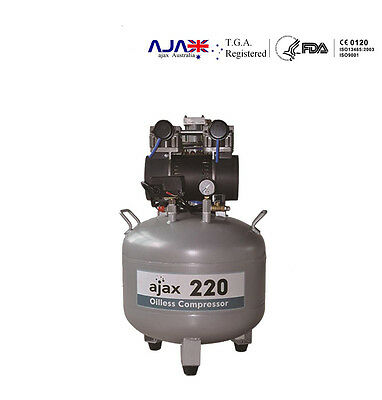 air compressor for dental use - oil-less and silence