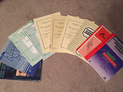 Lot of 10 advanced french horn student books