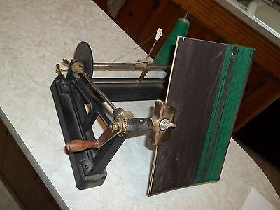 Alfred Suter Textile Engineer Winder Vintage Collectible