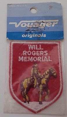 Voyager Will Rogers Memorial Claremore Oklahoma Patch - Usa